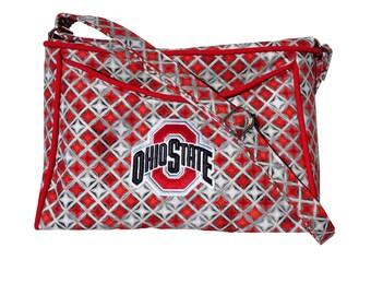 Ohio State Buckeyes OSU Purse / Handbag / Shoulder Bag