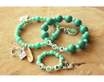 Mother daughter charm bracelet!