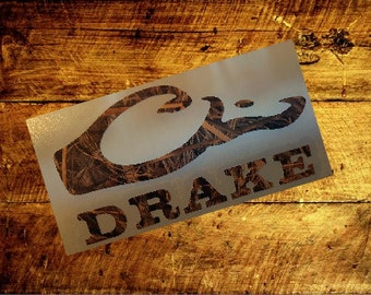 CAMO Drake Waterfowl Systems Decal Logo Sticker