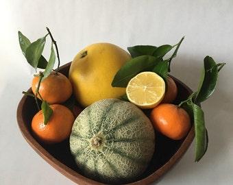Large Wooden Fruit/Salad Bowl