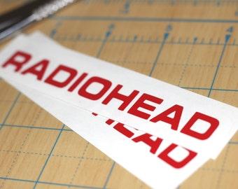 Radiohead Logo Vinyl Sticker