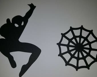 Spiderman silhouette | Etsy