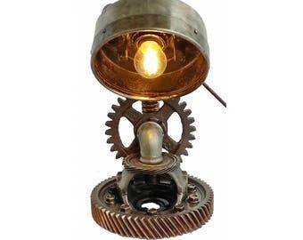 Bedroom lamps for nightstands, Industrial lamps, Industrial style lamps, Light bulb vintage, Industrial retro lighting, Lamp at night