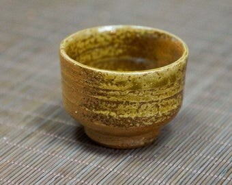 Japanese ceramic tea cup in Irabo style