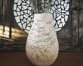 Handbuilt Stoneware Vase