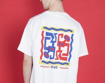 Front and back Jive Men T-shirt
