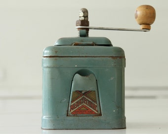 French vintage Menatechnic coffee grinder