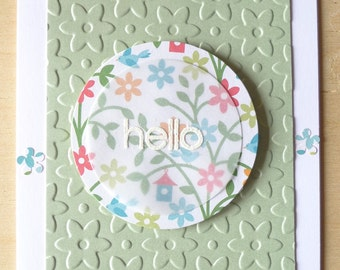 Notecards - hello/Hi!