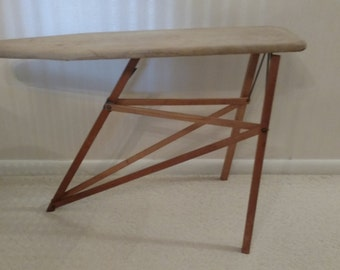 National Washboard Co. Antique Child's Wooden Ironing Board