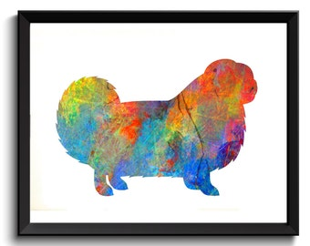 Chow Chow Dog Print - Watercolor Chow Chow, Chow Chow Gift, Songshi Quan Art, Fluffy Dog Art, Chow Chow Poster, Chow Wall Decor, Digital
