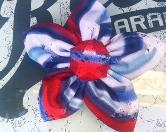 Pooch Petals ( fabric flowers, dog flower, dog bling, collar flower)
