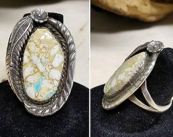 Gorgeous Boulder vintage Navajo ring