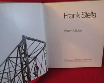 "Modern Art Book ""Frank Stella"" by William S. Rubin"