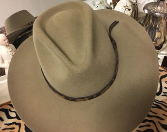 Tan Mens Hat