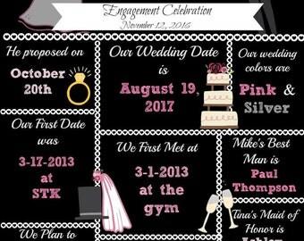 Bridal Shower/Engagement Poster