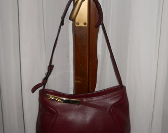 Authentic Trussardi bag ! Genuine leather ! Vintage ! Made in Italy