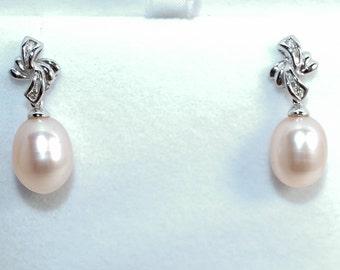 Culture Pearl Earrings