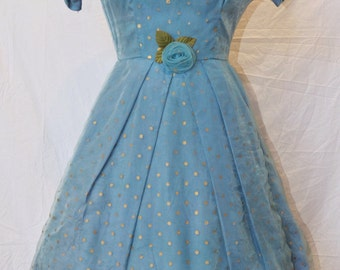 Rare vintage 50's party dress for wedding/prom