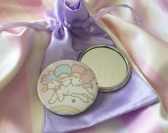 Little Twin Stars Pocket Mirror