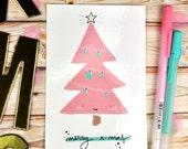 """Postal """"Árbol de Navidad"""""""