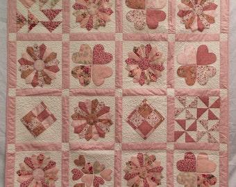 Handmade quilt 140 cm square