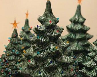 Ceramic Christmas Tree Large