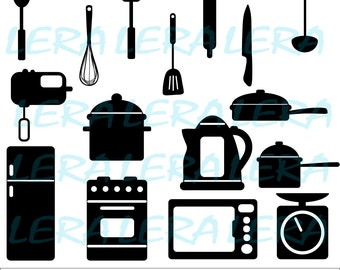 60 % OFF, Kitchen SVG, Kitchen SVG File, Kitchen File svg, png, eps, dxf, Kitchen Silhouette, Kitchen cut files, Chef svg,Kitchen Printables