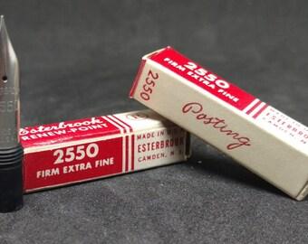 Esterbrook #2550 Firm Extra Fine Fountain Pen Nib