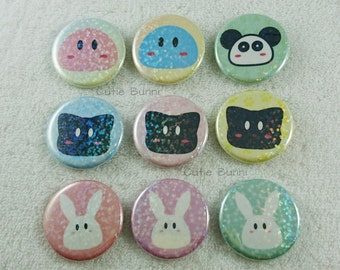 Dango Blob Animal Buttons