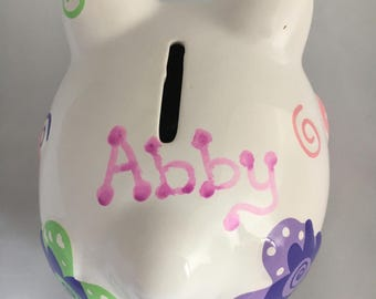 Best friends personalized Piggy Bank