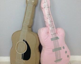 Electric guitar cushion by Miyu Miyu