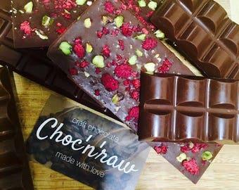Satisfaction -  ''Milk'' Raw Vegan Chocolate Bar