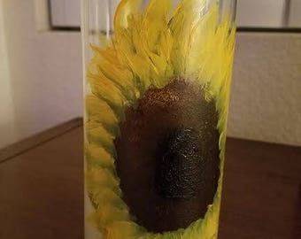 WOW Sunny Sunflower Soy Candle (Hand Poured)