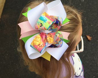 Stacked Boutique Bow Princess
