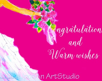 Bridal Card Printable