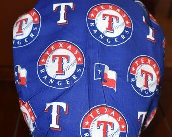 Texas Rangers bouffant