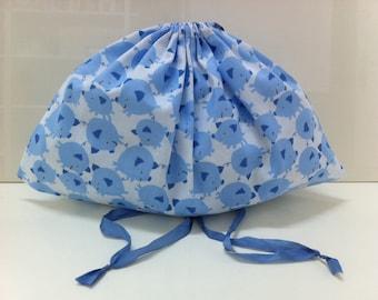 Wrap fabric pattern small pigs