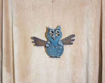 Owl Ornament - Angel Art Design Co.   (OW14)