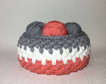 Crochet Pattern Basket/ Easy Basket Crochet Pattern/ Crochet Pattern Easy Basket/ Crochet Pattern Large Basket/ Easy Basket Crochet/ Basket