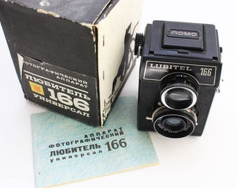 Lomo Lubitel 166+120 medium format Film Camera never used