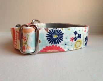 Spring adjustable collar for dog / small dog collar / dog collar medium / large dog collar / necklace made in france