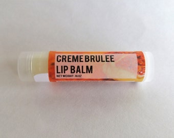 Lip Balm: Creme Brulee