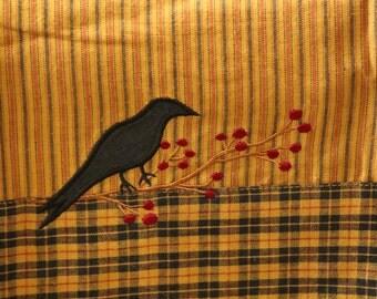 Rustic Raven Tea Towels