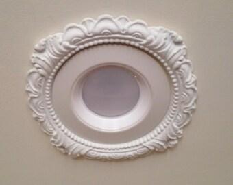 """6-3/4"""" Decorative Recessed Light Trim for recessed lighting #LR-601"""