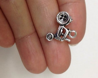 4 Farm Tractor Charm, Tractor Charm