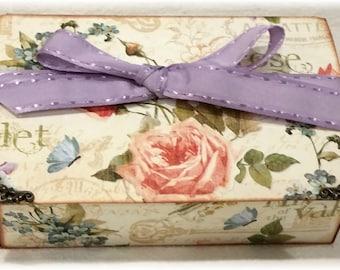 Graphic 45 Secret Garden Keepsake Box and Mini Album