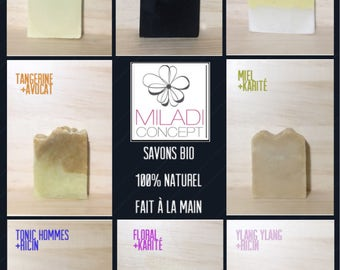 Natural organic handmade soap / ORGANIC handmade soap
