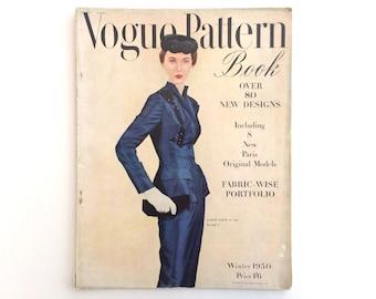 Vogue Pattern Book Winter 1950