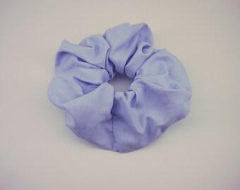 Bluebell Scrunchie, Big Scrunchie, Pale Blue Hair Tie,Big Bright Scrunchie, Gift,Hair, Party Favours, Ponytail Ties,Team Scrunchies, Kids
