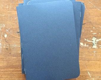 Bulk Black Notebooks | 5 x 7 | Kraft Notebook | Kraft Sketchbook | Kraft Journal | Notebook | Sketchbook | Journal | Travelers Notebook